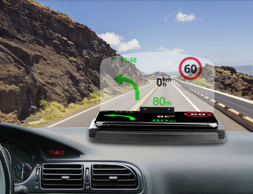 head up display comprar